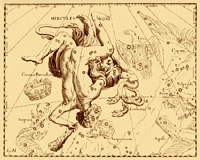 la constellation de Hercule