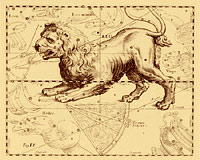 La constellation du Lion