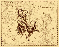 La constellation de Persée